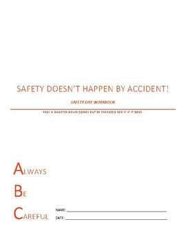 Safety Day Lesson Plans and Booklet
