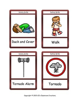 FREE Safety Drill Flashcards
