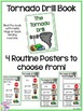 Safety Drills Books & Routine Posters (Earthquake, Tornado, & Intruder/Lockdown)