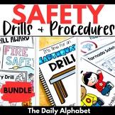 Safety Drills & Procedures (Fire, Tornado, Lockdown, Earthquake)