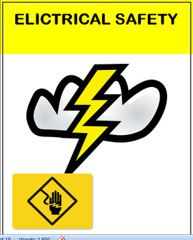 Electricity and Safety, lesson, 2 actvities