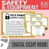 Lab Safety, Equipment and Measurement Science Escape Room