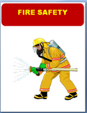 Fire Safety- important safety rules, 3 activities, coloring pages