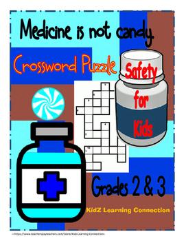 Crossword Puzzle:  Medicine Safety