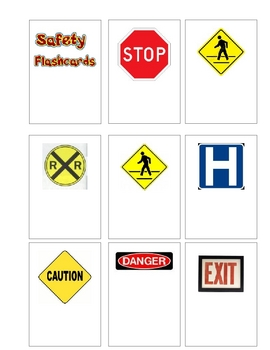 Safety Flashcards