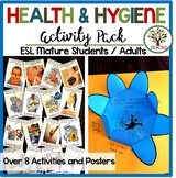 Health Safety and Personal Hygiene Printables and Activities