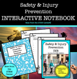 Safety & Injury Prevention in Health Interactive Notebook