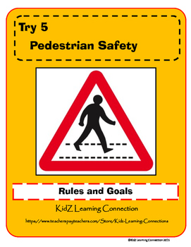 Pedestrian Safety Rules