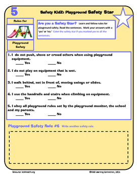 Playground Safety Rules and Practices