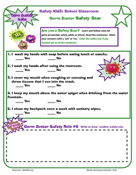 Germ Busters for the Classroom