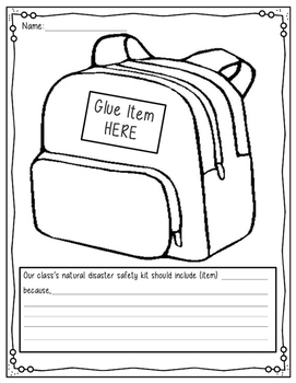 Safety Kit book: what should you include inside?
