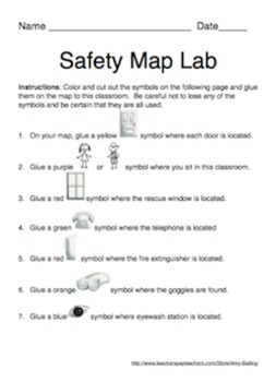 Safety Map Laboratory Activity
