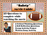 Safety Movie Guide (2020) - Movie Questions with Extra Activities