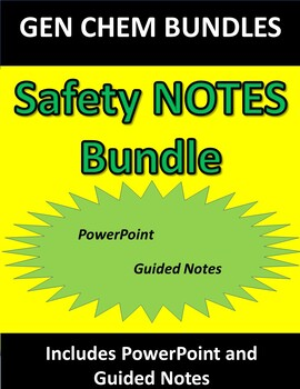 Safety NOTES ONLY Bundle