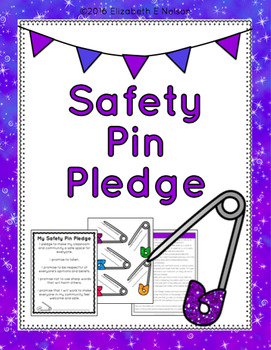 Creating Safe Space For Students After >> Safety Pin Pledge Creating Safe Space In The Classroom By Lifelong
