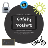 Safety Posters - Student worksheets
