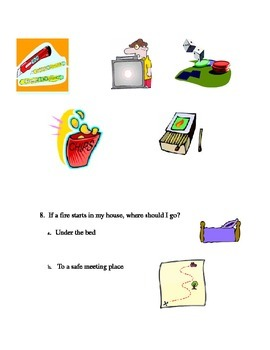 Safety & Responsibility Health Quiz