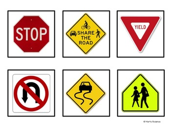 Safety Road Signs Pack