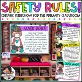 Safety Rules Slideshow | Includes Google Slides™ Version