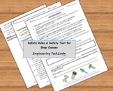 Safety Rules and Safety Test for Shop Classes / Tool and Machine Use