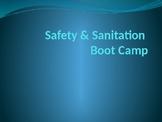 Safety & Sanitation Boot Camp