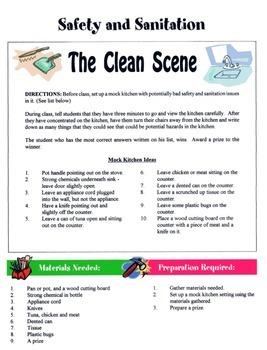 Safety & Sanitation Game / Activity
