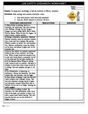 Safety Scenarios Worksheet/Handout