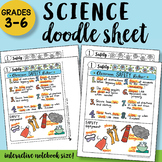Safety Rules Doodle Notes Sheet - PPT included, So Easy to Use!!