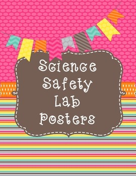 Safety Science Lab Posters