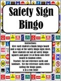 Cut & Paste - Safety Sign Bingo