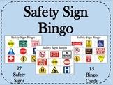 Safety Sign Bingo - Life Skills