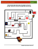 Safety Sign Practice: Pirate Maze (Level 2)