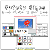 "Safety Sign Real Photo ""I See"" Book for Special Education Classrooms"
