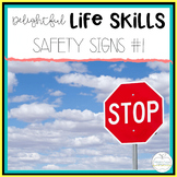Safety Sign Worksheets: Special Education No-Prep Printable Pack