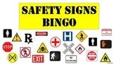 Safety Signs Bingo