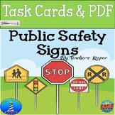 Safety Signs Bundle: BOOM Digital Task Card, POsters, and Booklet