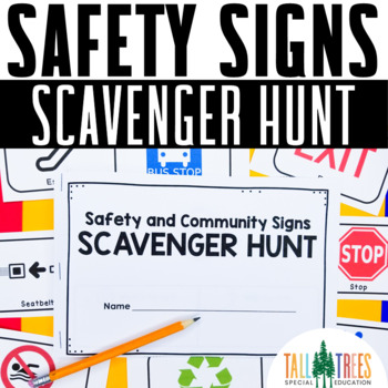 Safety Signs Community Scavenger Hunt