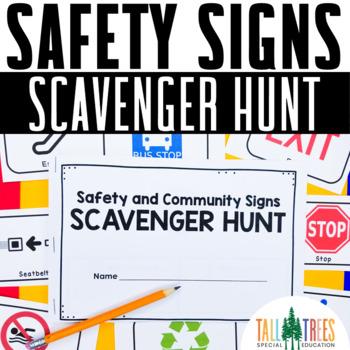 Safety Signs Community Scavenger Hunt