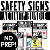 Community and Safety Signs Life Skills Special Education Activities Bundle