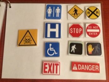 Safety Signs Interactive Book