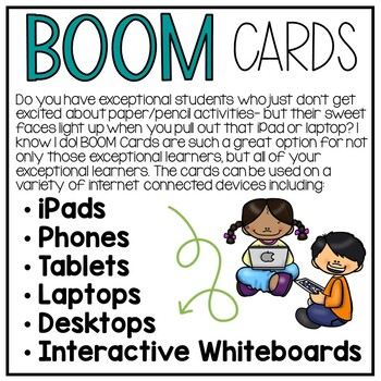 Safety Signs Interactive Boom Cards for Special Education