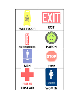 Safety Signs Match