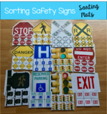 Safety Signs Sorting Mats (w/Real Photos)