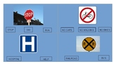 Safety Signs Task Cards