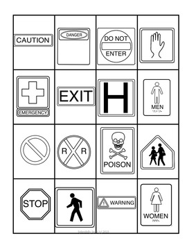 Signs and Signals Activity Pack