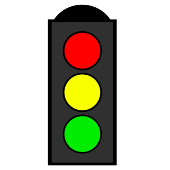Safety Signs and Stoplight