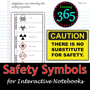 Safety Symbols Unit Bundle