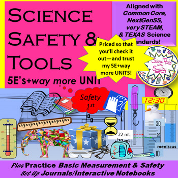 TOOLs, Safety, Measurement & Journal SetUP-complete UNIT-5Es+way more