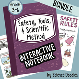 Safety, Tools and Scientific Method Notebook Doodle BUNDLE - Science Notes