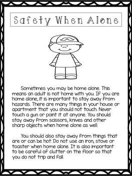 Safety When Alone at Home